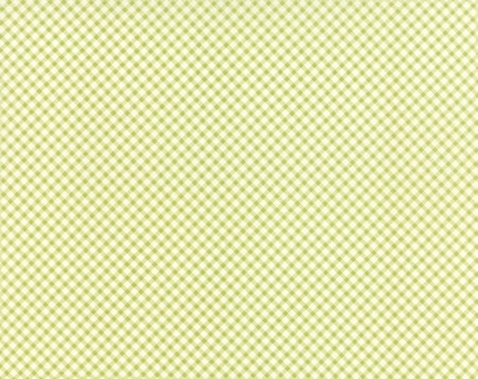 Bespoke Blooms Gingham Light Green - 1/2yd