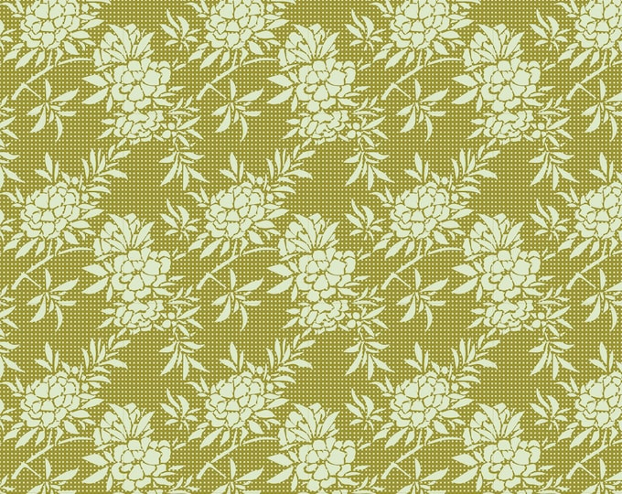 TILDA HARVEST - Flower Bush Green 481504