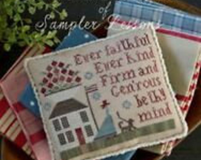 Serial Bowl Collection Lesson Two - Plum Street Samplers - Cross Stitch Chart