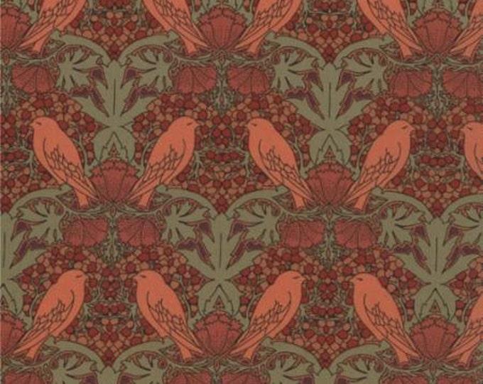 Morris Modernized - Birds Berries Peach