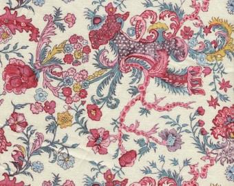 Dutch Heritage Indira Cream 2051 - 1/2yd