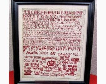 Emma Sandford 1867 - Dutch Treat Designs - Cross Stitch Chart