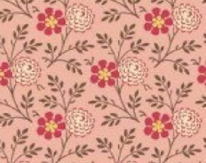 Cloverdale House Flower Pink 7969E - 1/2yd