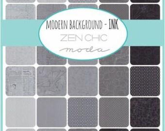 Modern Backgrounds Ink - 20 x 1/4yd Bundle