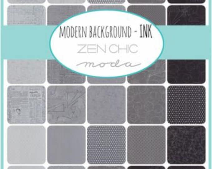 Modern Backgrounds Ink - 20 x 1/4yd Bundle