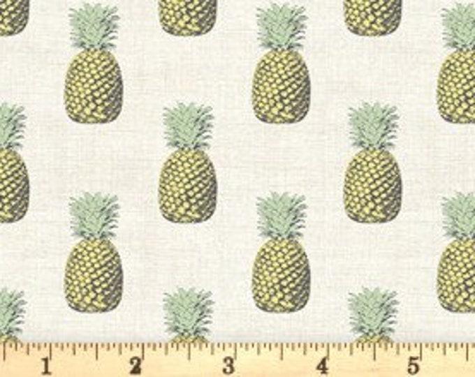 Fern Garden Pineapple Paper 2074Q - 1/2yd