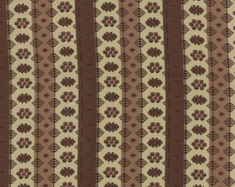 Community Stripes Brown - 1/2yd