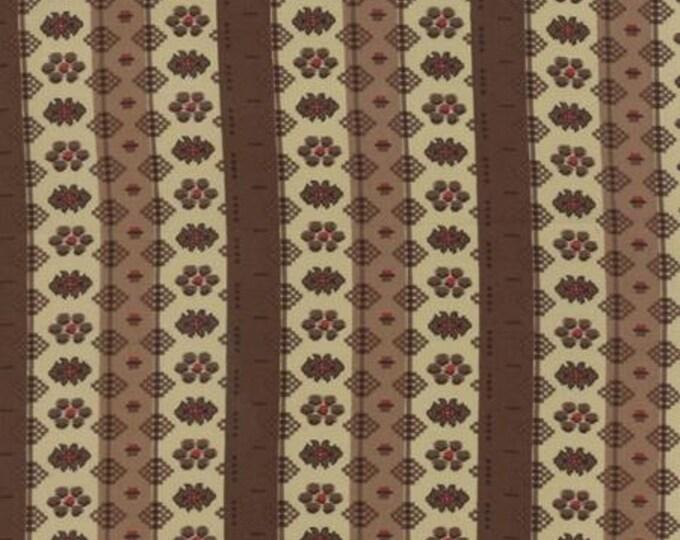 Community Stripes Brown - 1/2yd