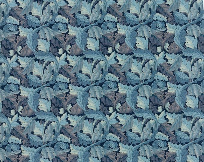William Morris Acanthus 1875 Indigo 730417 - 1/2yd