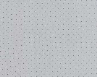 Modern BG Ink Pindot Zen Grey - 1/2yd