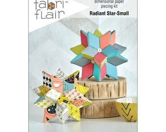 FabriFlair - Dimensional Paper Piecing Kit - Radiant Star Small
