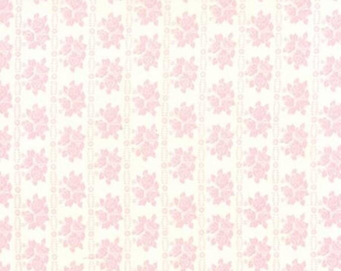 Bespoke Blooms Rose Rows Pink - 1/2yd