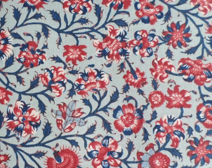 Dutch Heritage Gugarat Small 1020 - Pale Blue - Fat Quarter