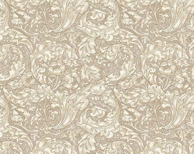 Morris & Co - Kelmscott Bachelor's Button Tan PWWM003 - 1/2yd