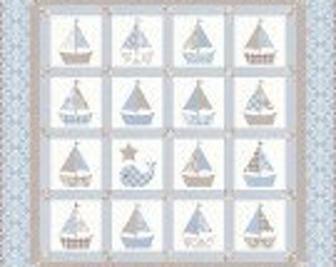 Cape Cod Baby Quilt Pattern by Bunny Hill Designs