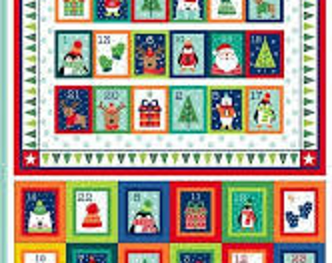 Christmas Advent Calendar 1812 - Fabric Panel