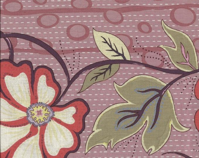 A Wandering Mind - Flowering Vine - Rose - 1 yd