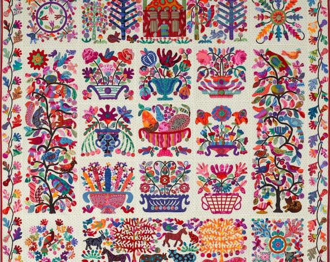 Roseville Garden Quilt Pattern by Kim McLean