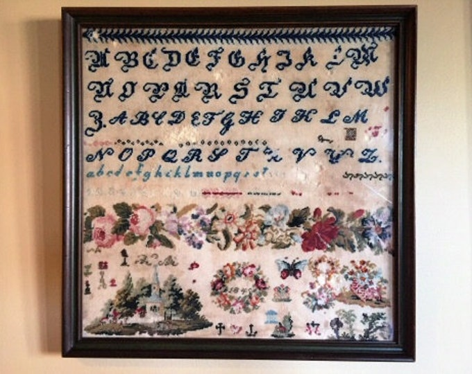 Band of Roses 1845 - Cross Stitch Antiques - Cross Stitch Chart