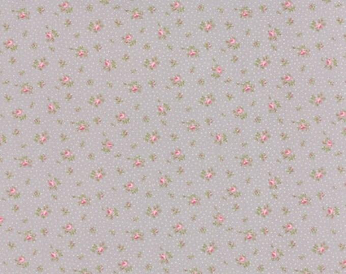 Bespoke Blooms Sprinkled Floral Pebble Grey - 1/2yd