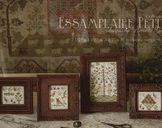 Essamplaire Petite Collection II - With Thy Needle And Thread - Cross Stitch Chart