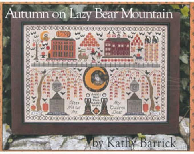 Autumn on Lazy Bear Mountain by Kathy Barrick - Paper Chart