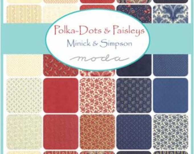 Polka Dots and Paisleys - 36 x 1/4 yd Bundle