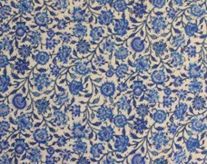 Dutch Heritage Gugarat China Blue 1018 - 1/2yd