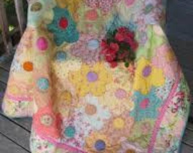 Flower Patch Quick Quilt - Quilt Pattern