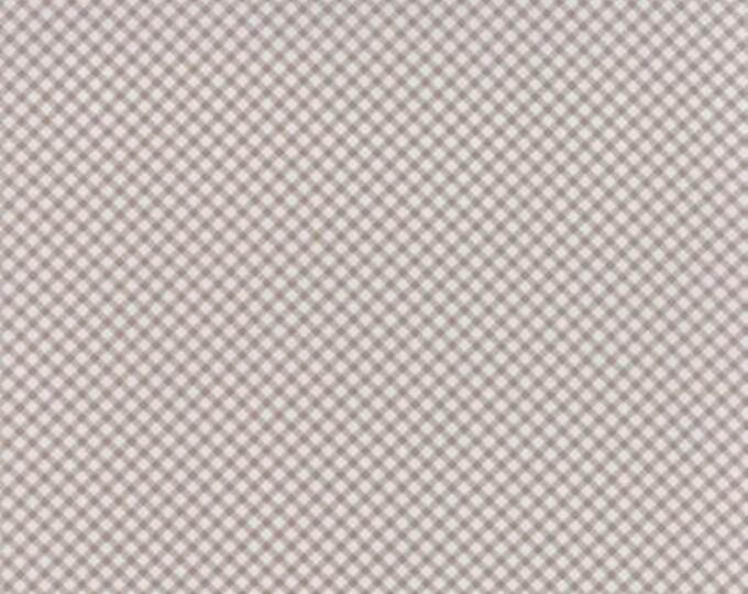 Bespoke Blooms Gingham Cobblestone Grey - 1/2yd