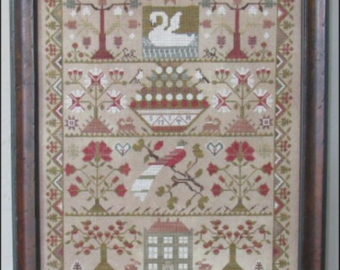 Smith Sampler - Scarlett House - Cross Stitch Chart