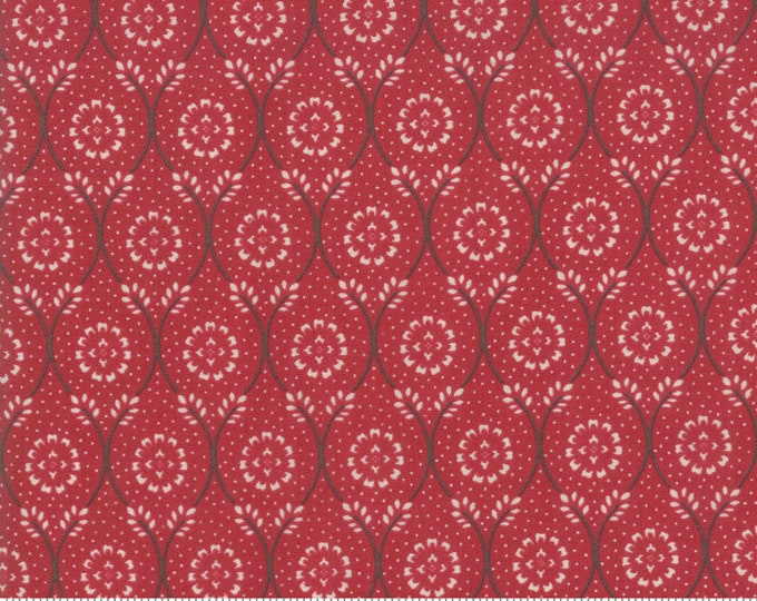 Chafarcani - French General - 1385211 Rouge - 1/2yd