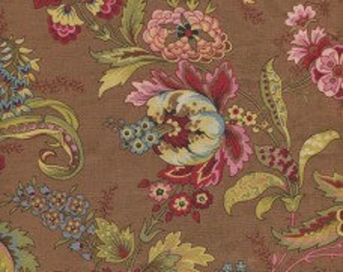 Dutch Heritage Pompadour Brown 2041 - 1/2yd