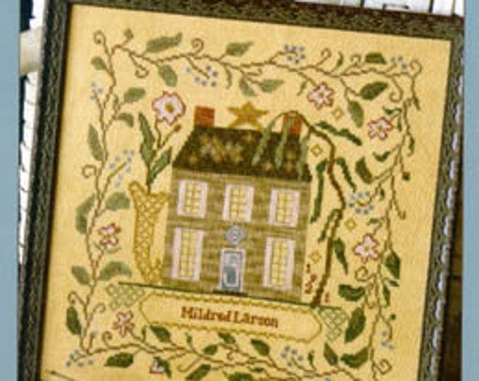 Mildred's Garden House - Blackbird Designs - Cross stitch chart