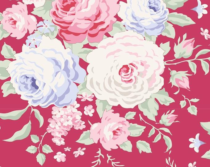 TILDA Old Rose - Lydia Raspberry 100202 - Fat Quarter