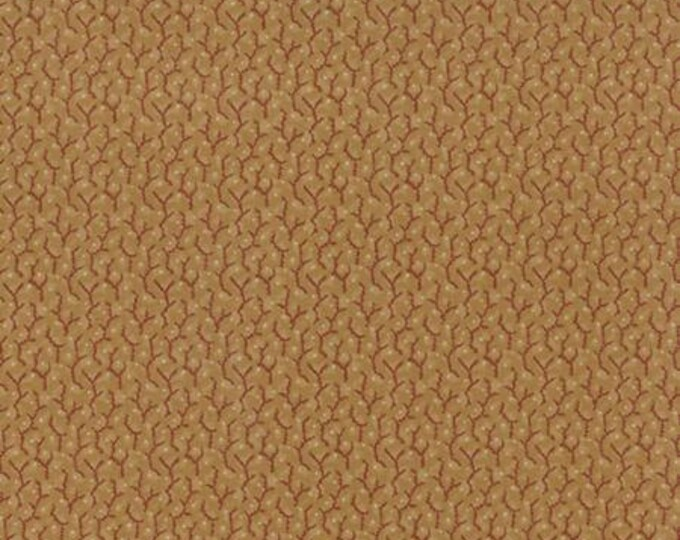 Community Vines Berries Gold - 1/2yd