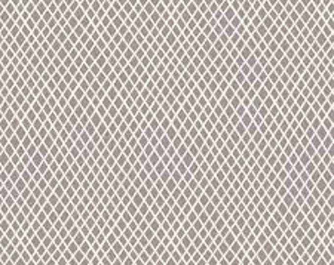 TILDA Basics - Crisscross Grey 130042 - Fat Quarter