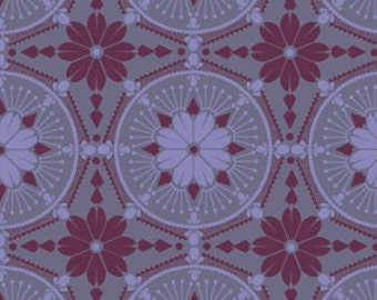 True Colors Anna Maria Horner Medallion Violet - 1/2yd