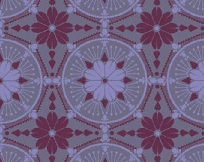 True Colors Anna Maria Horner Medallion Violet - 1/2yd