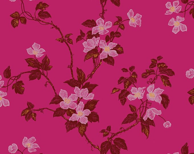 Florence Broadhurst Romantic Rebel L01405-1 - 1/2yd