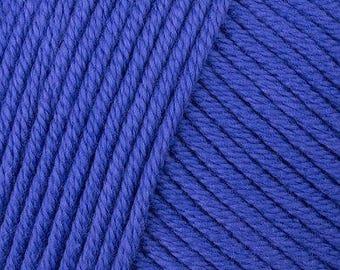 DMC Natura Medium - Aran/10ply - Royal Blue 332.700