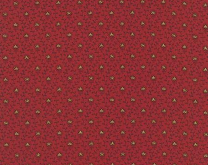 Ville Fleurie Violette Rouge - 1/2yd