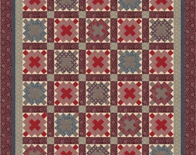 Aurivil Quilt Pattern by French General