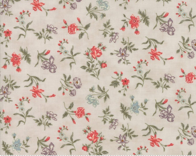 Quill - Blossoms Natural 44151411 - 1/2yd