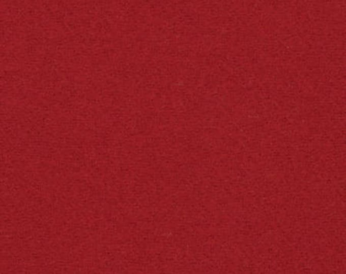 Moda 100% Wool Red 5481021 - 1/2 yd x 54 inches