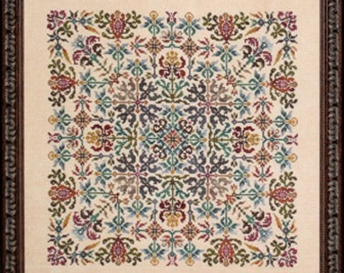 Tapestry - Ink Circles - Cross stitch chart