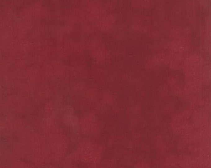 Primitive Muslin Flannel Barn Burgundy - 1/2yd