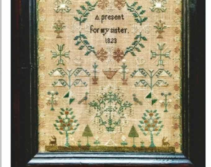 A Present For My Sister 1823 - NeedleWorkPress - Cross Stitch Chart