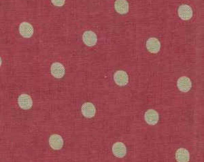 Mas d'Ousvan - Moon Chambray Sevigne Crushed Strawberry - 1/2yd