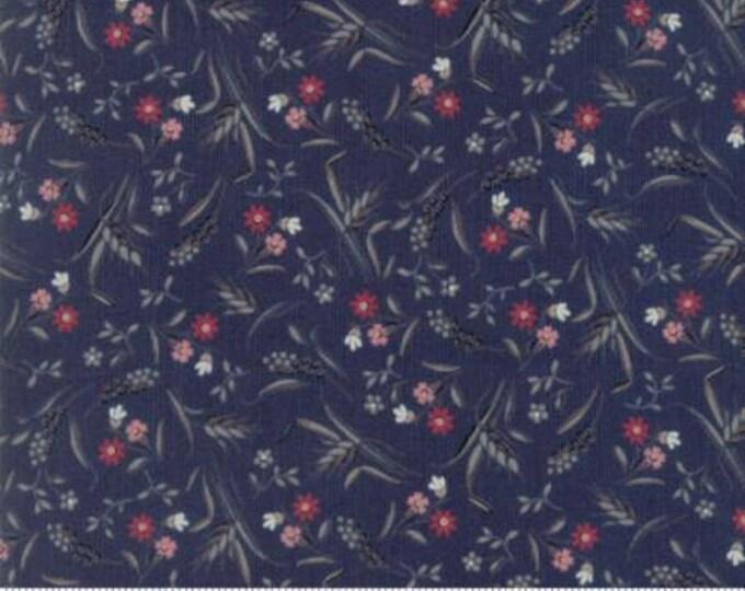 Sweet Blend - Floral Field Blueberry 4229212 - 1/2 yard